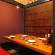 人数に合わせて個室ご用意可能です。渋谷の個室宴会はお任せ下さい。
