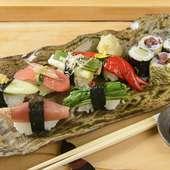寿司屋のつくる、別格の漬物寿司『京野菜漬物寿司』