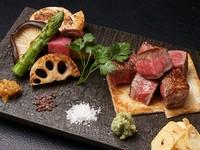 厳選された極上肉の味わいを堪能!『サーロインステーキ』
