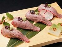 お口の中が幸せになる『炙り握り寿司』