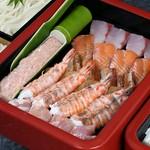 天ぷら・茶碗蒸し付1848円/季節前菜・天ぷら・茶碗蒸し付2,178円