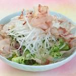 かえで 4546円 前菜・造り・中千代口・吸物・魚しゃぶ・茶碗蒸し天ぷら・季節釜飯・香の物・赤だし・デザートかつら 5909円 上吸物・上造り
