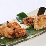 あかす海老唐揚げ・黒枝豆・おぼろどうふ・だし巻玉子・ポテトフライ・魚介の酢味噌・季節の白和え