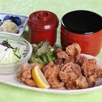 茶碗蒸し・赤だし付 1518円/天ぷら・赤だし付 1518円・天ぷら・茶碗蒸し・赤だし付 1958円