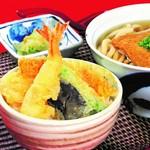 天ぷら付 1518円/茶碗蒸し付 1518円/天ぷら・茶碗蒸し付 1958円