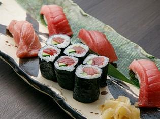 熊野産生本鮪やがんこ鯛など、新鮮な魚介類を厳選