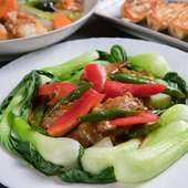 おいしく食べて元気に。野菜をたくさん食べられるメニューが豊富