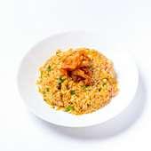 中華あんたっぷり。優しい味わいの『海老と蟹あんかけチャーハン』