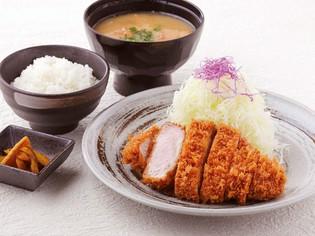 熟成させた豚肉や、とんかつに合うこだわりのお米