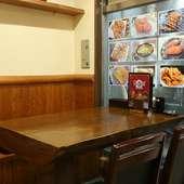 老若男女問わず楽しめる、オシャレな雰囲気の中国料理店