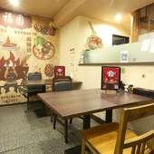 日本では珍しい中国東北料理店。本場の料理人がつくる鉄板料理