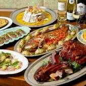 バラエティ豊かなパーティー料理