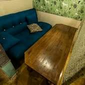 お洒落なソファー席は広々とご利用いただけます