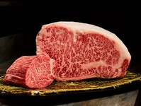 脂の甘みとお肉の旨みを感じる、上質部位『黒毛和牛 サーロイン』