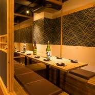 完全個室で周囲を気にせずお食事をお楽しみいただけます。