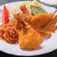 昔ながらの沖縄の味『開き海老フライ』
