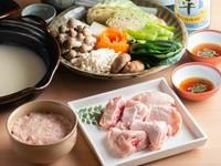 新鮮な鶏の美味しさと濃厚スープがクセになる『水炊き』