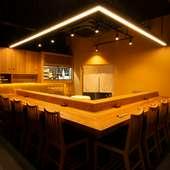 大人の和食&寿司デート、記念日を祝う舞台として理想的な一軒