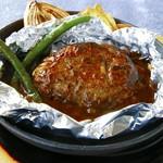 ランチメニューは、肉の旨みが詰まったハンバーグが人気! 神戸牛を使ったものも。