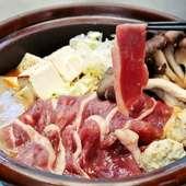 自然薯 本鴨ロース鍋(1人前)