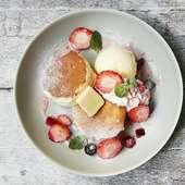 ラフレアのメープルスフレパンケーキ