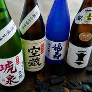 呑み放題プランでも、日本酒が楽しめるとあって各種宴会にも人気。さらに土日は12時~昼飲みも楽しめる!