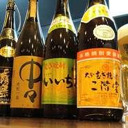 アサヒ樽生マイスターでもある店主が注ぐ生ビールは冷えたグラスはもちろん、細やかな温度管理で、デリケートな近江牛の旨さを引き立ててくれます。肉に合う焼酎も6種以上を揃えています。