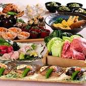 「鎌倉・湘南の野菜」や「相模湾で獲れた鮮魚」