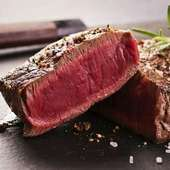 黒毛和牛赤身肉ステーキ