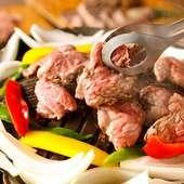 5900円⇒4900円店長自ら厳選した羊肉は新鮮で驚くほど臭みがなく本当のラム肉の美味しさをご堪能頂けます