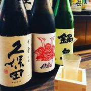 焼き鳥に合う日本酒も用意しています