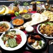 インド料理を代表する料理をリーズナブルな価格で楽しめる『ムンバイコース』