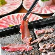 宴会にピッタリのコースは3000円~! 韓国鍋やサムギョプサルなど、べじとんならではのコースが多数。