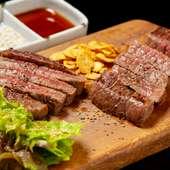 お酒やご飯が進む味 あふれる肉の旨みを召し上がれ『但馬太田牛の鉄板焼き』