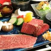 壱岐牛の肉尽くしコース