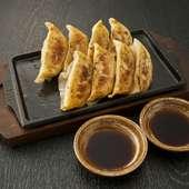 【おすすめ】九州肉汁 鉄板餃子