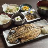 鮮度抜群の魚料理が豊富な海鮮食堂
