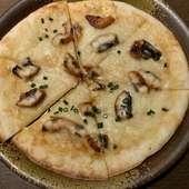 名古屋では珍しい新たなスタイルの名古屋めし『ひつまぶしピザ』