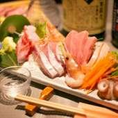 鮮魚の盛り合わせ(一人前)