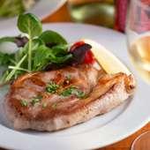 肉料理(コースの一品)