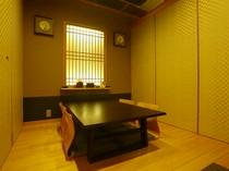プライベート感あふれる個室は、2人から利用OK