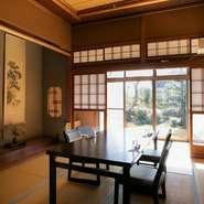 プライベートにはもちろん、ビジネスシーンにも寄り添ってくれる【創作懐石料理とびうめ】。精進料理にも対応しており、日本文化に関心の高い方やヴィーガンの方をもてなす際にもピッタリです。
