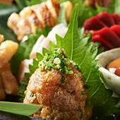 本格地鶏料理をお楽しみください