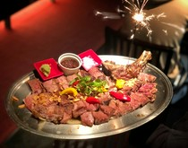 バースデーや記念日の肉プレート