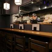 上質な和食と美酒を自分時間で楽しめる、1人のカウンター席