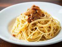 大粒の生うにをトッピングした、贅沢なおいしさ『生うにのスパゲティ』
