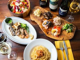 パスタにサラダに…色々な『イタリア料理』をご用意
