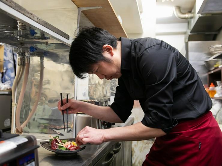 料理は愛情。ゲストの笑顔のため、決して手間を惜しまない