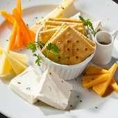 チーズの盛合わせ