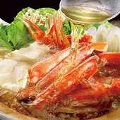 本ずわい蟹のすき鍋